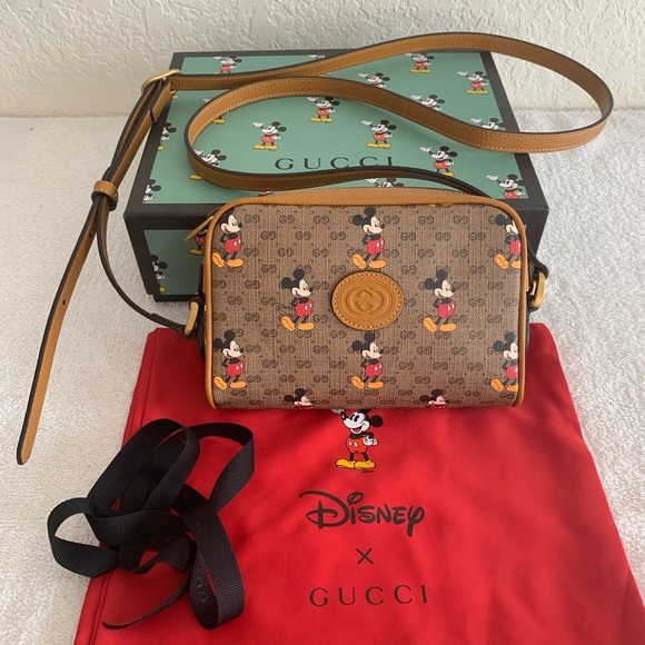 Gucci Disney Mickey Small Shoulder Bag NWT